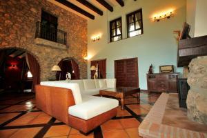Zona de estar de Palacete Belmonte
