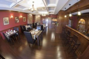Restauracja lub miejsce do jedzenia w obiekcie Hotel Dwór Galicja