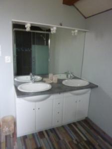 Salle de bains dans l'établissement Chanteclair