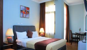 Hotel Lobeliaにあるベッド