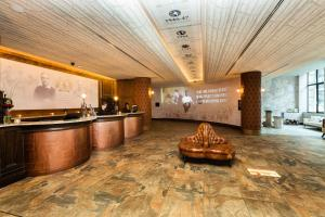 The lobby or reception area at The Shankly Hotel