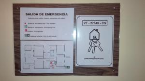 Plano de Apartamento Rural La Plaza Vieja
