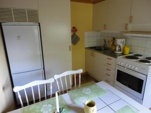 Ett kök eller pentry på Sjöstugan o Lillstugan