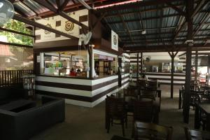 The lounge or bar area at The Barat Perhentian