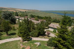 Una vista aérea de Delta Nature Resort