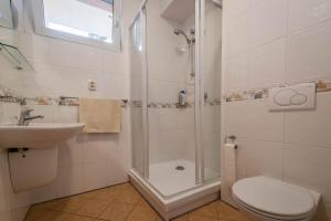 Koupelna v ubytování Vila Michal