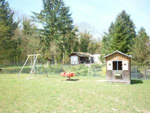 Children's play area at La Clé Des Champs