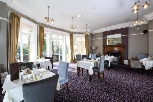 A restaurant or other place to eat at Halifax Hall