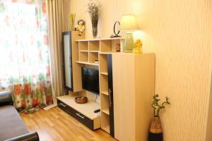 Телевизор и/или развлекательный центр в Apartment On Lyzhnoy