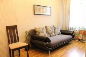 Гостиная зона в Apartment On Lyzhnoy