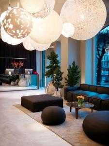 The swimming pool at or near Nobis Hotel Stockholm, a Member of Design Hotels™