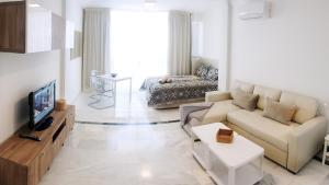 Zona de estar de Luxury Studio