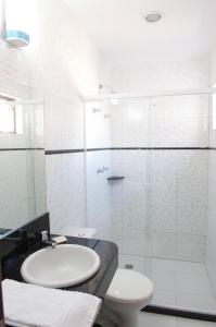 A bathroom at Absolutte Hotel