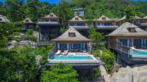 A bird's-eye view of Hilton Seychelles Northolme Resort & Spa