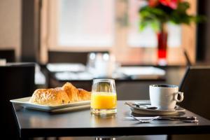 Options de petit-déjeuner proposées aux clients de l'établissement Hotel des Savoies Lyon Perrache