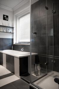 Koupelna v ubytování Pension Villa Maria