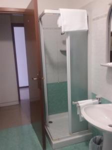 Ванная комната в Hotel Fiera