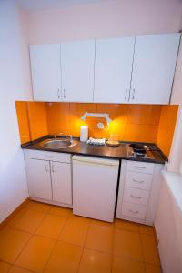 A kitchen or kitchenette at Cool terrace