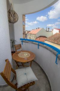 A balcony or terrace at Cool terrace