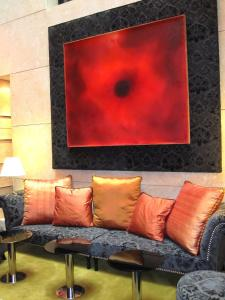 Zona de estar de Nexus Valladolid Suites & Hotel
