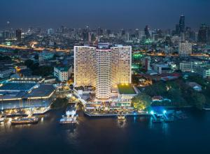 A bird's-eye view of Royal Orchid Sheraton Hotel and Towers