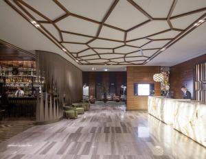 Lobby/Rezeption in der Unterkunft TITANIC Chaussee Berlin