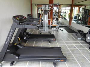 The fitness center and/or fitness facilities at Hotel Arenal Springs Resort & Spa