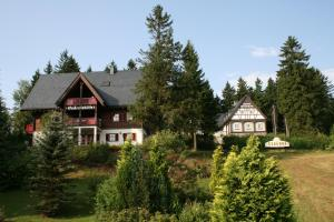 Das Gebäude in dem sich der Ferienpark befindet