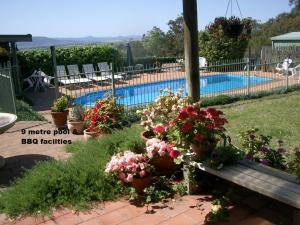 A view of the pool at LeCamah Hill or nearby