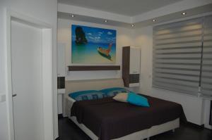 Ein Bett oder Betten in einem Zimmer der Unterkunft Wohlfühl-Alm