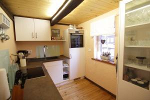 Küche/Küchenzeile in der Unterkunft Hainich-Ferienhof