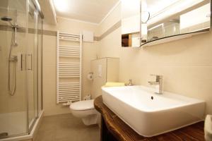 Ein Badezimmer in der Unterkunft Hainich-Ferienhof