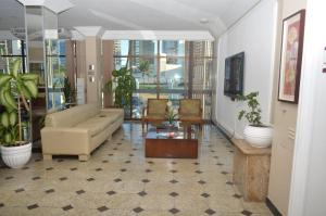 The lobby or reception area at Salvador Mar Hotel