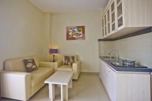 A kitchen or kitchenette at Anumana Bay View