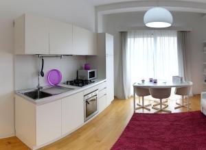 A kitchen or kitchenette at Residence Grandi Magazzini