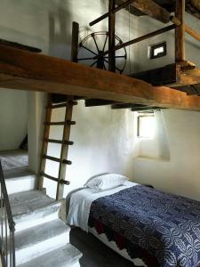 Een stapelbed of stapelbedden in een kamer bij Sextantio Albergo Diffuso