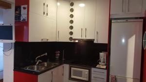 A kitchen or kitchenette at Sol Levante 1035