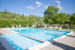 The swimming pool at or near Borgo San Benedetto