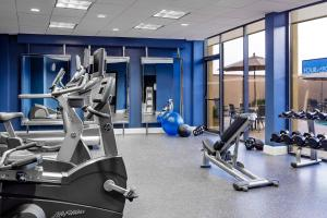 The fitness center and/or fitness facilities at Four Points by Sheraton Houston Greenway Plaza