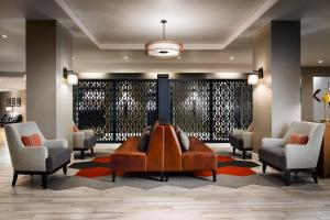 The lobby or reception area at Four Points by Sheraton Houston Greenway Plaza