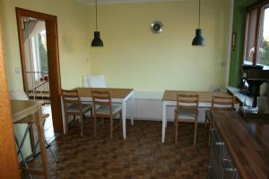 A restaurant or other place to eat at Guest House Am Sonnenwinkel