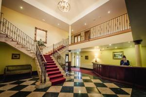 The lobby or reception area at Roganstown Hotel & Country Club