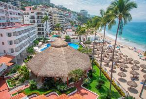 A view of the pool at Tropicana Hotel Puerto Vallarta or nearby