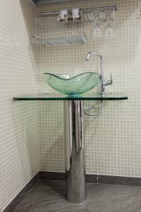 Ванная комната в Апартаменты «Дом со шпилем»