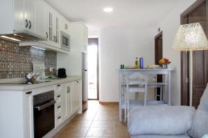 Una cocina o zona de cocina en Apartamentos San Fernando 76