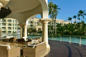 A patio or other outdoor area at Iberostar Grand Bavaro Hotel