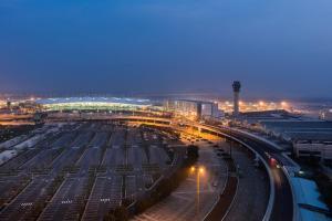 A bird's-eye view of Pullman Nanjing Lukou Airport