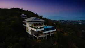 A bird's-eye view of Baan Kuno - Panoramic Views with Total Privacy