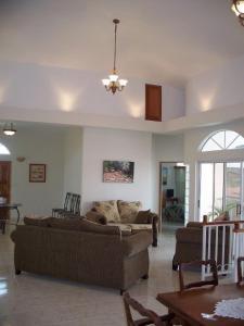 A seating area at Villa San Juan