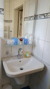 Ein Badezimmer in der Unterkunft Ferienwohnungen Angela